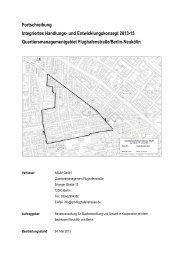 Fortschreibung des Integrierten Entwicklungs - (QM) Flughafenstraße