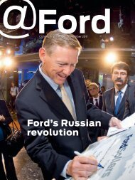 Ford's Russian revolution