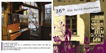 Ausgabe 1 - qm zentrum kreuzberg / oranienstrasse