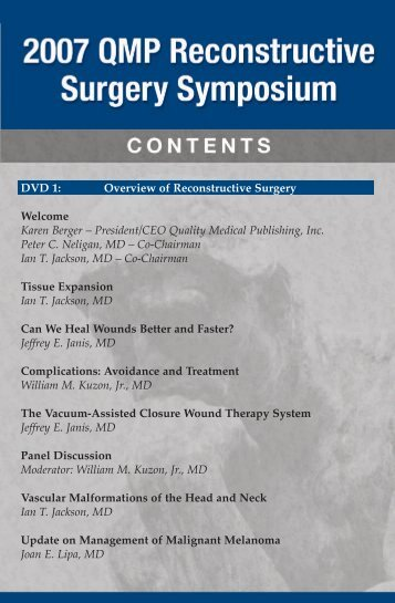 Table of Contents - QMP