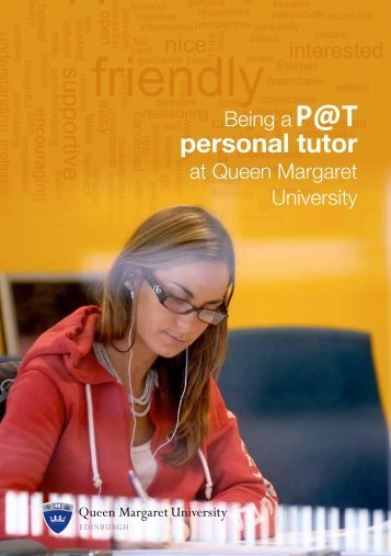 new staff guide from 2012-2013 - Queen Margaret University