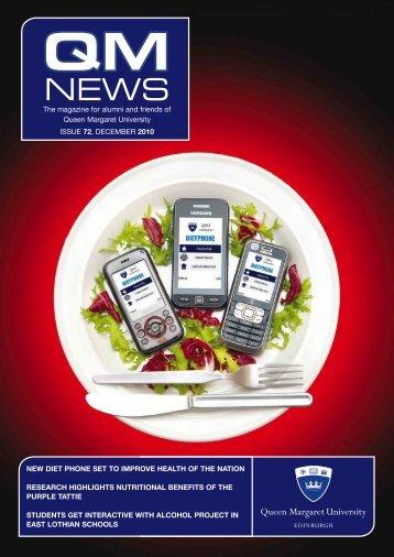 QM News 72 (pdf 62.70 MB) - Queen Margaret University