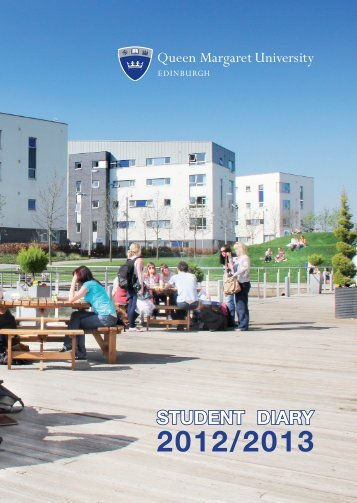 Student Diary 2012-13 combined.indd - Queen Margaret University