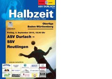 ASV Durlach – SSV Reutlingen