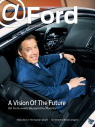 A Vision Of The Future - Ford