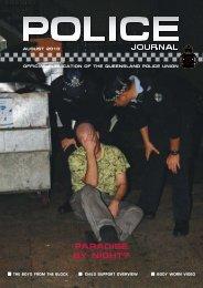 Queensland Police Union Journal August 2010