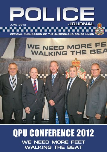 Queensland Police Union of Employees Journal June 2012