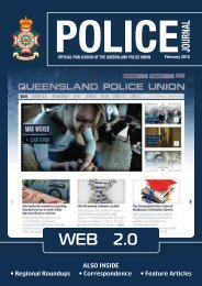also inside - Queensland Police Union