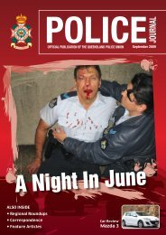 A Night in June - Queensland Police Union