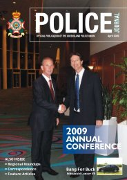 Queensland Police Union of Employees Journal April 2009