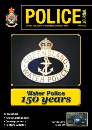 General Secretary's - Queensland Police Union