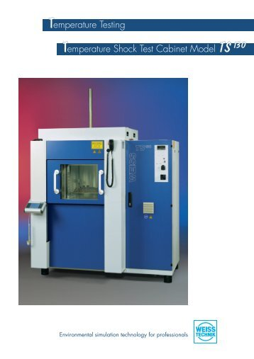 Shock test chamber TS130 (1.2 MB) - QRA International Pte Ltd