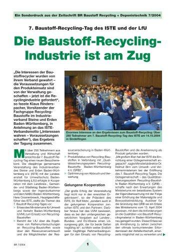 7. RC-Tag - Qualitätssicherungssystem Recycling-Baustoffe Baden ...