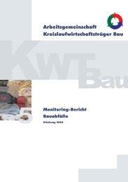 Erhebung 2004 - Kreislaufwirtschaft Bau