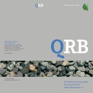 QRB-Broschüre 2007.indd - Qualitätssicherungssystem Recycling ...