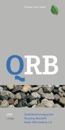 Qualitätssicherungssystem Recycling-Baustoffe Baden-Württemberg ...