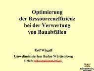 Rolf Wizgall - Qualitätssicherungssystem Recycling-Baustoffe ...