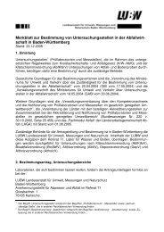 Merkblatt zur Bestimmung von Untersuchungsstellen in der ...