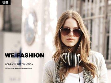 WE - Amsterdam Sustainability Institute for Fashion and Fabrics