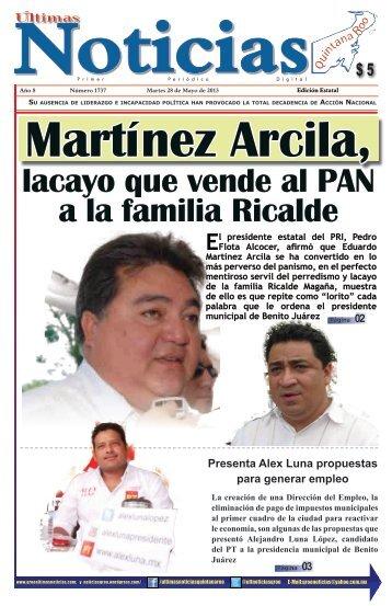 28 - Ultimas Noticias Quintana Roo