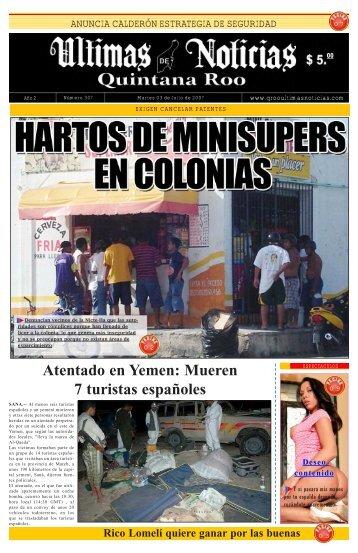 3 - Ultimas Noticias Quintana Roo