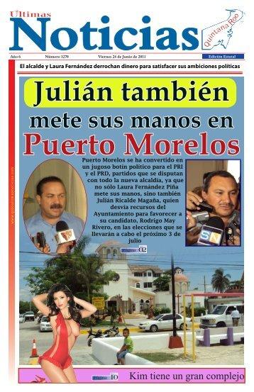 24 - Ultimas Noticias Quintana Roo