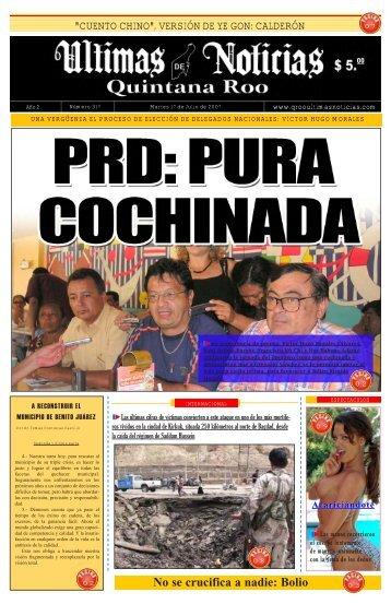 17 - Ultimas Noticias Quintana Roo