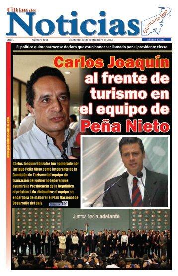 5 - Ultimas Noticias Quintana Roo