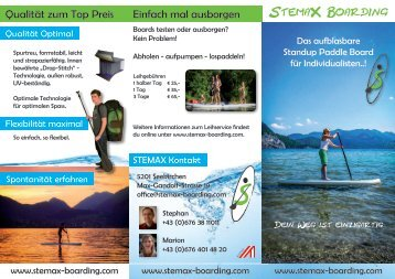 StemaX Boarding Folder 2014