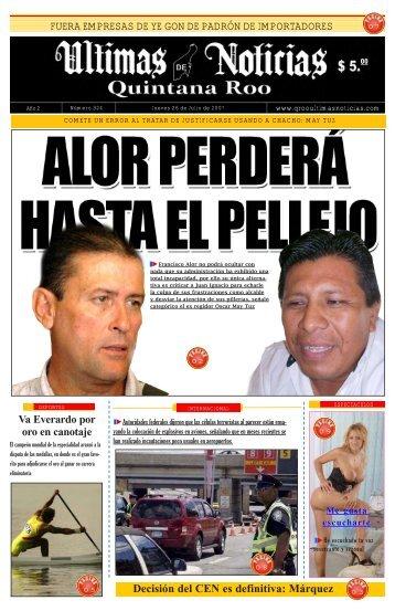 26 - Ultimas Noticias Quintana Roo