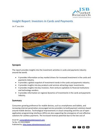 jsb market research insight A new report by pyramid research, ott video market attractiveness index: worldwide country rankings, market drivers and positioning strategies, examines.