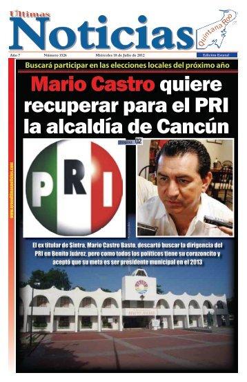 18 - Ultimas Noticias Quintana Roo