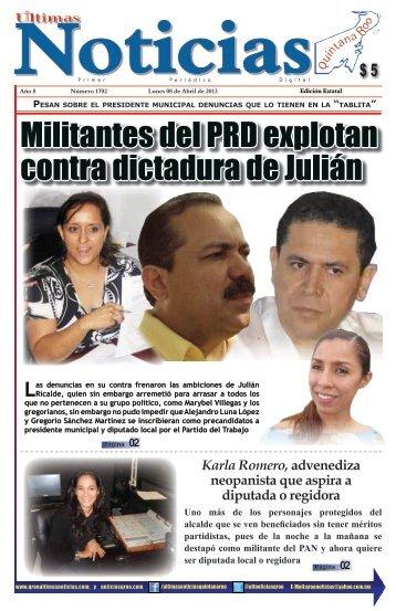 8 - Ultimas Noticias Quintana Roo