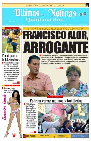 13 - Ultimas Noticias Quintana Roo