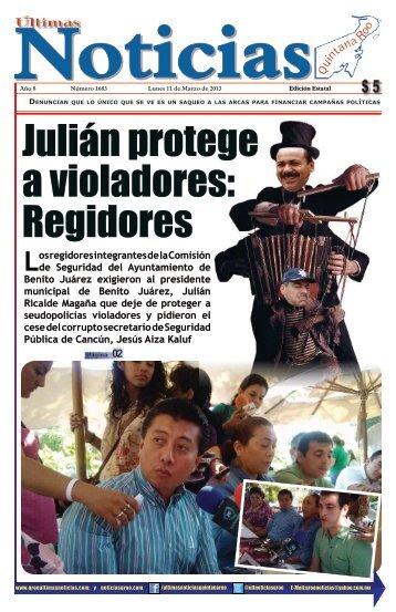 11 - Ultimas Noticias Quintana Roo