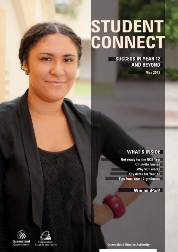 Student Connect May 2012 - Queensland Studies Authority