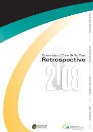 Retrospective 2008 - Queensland Studies Authority