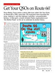 Get Your QSOs on Route 66! - QSL.net