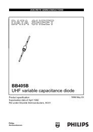 UHF variable capacitance diode - Micropik