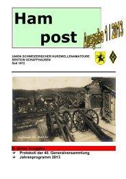 In dieser Ausgabe Protokoll der 40 ... - QSLNET.de