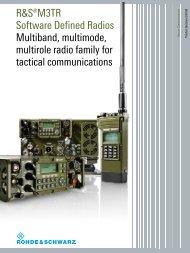 Rohde & Schwarz M3TR - QSLNET.de