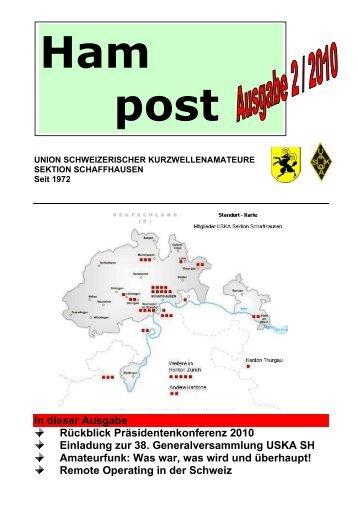 In dieser Ausgabe Rückblick Präsidentenkonferenz ... - QSLNET.de