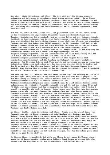 """der Link zu einem Bericht von """"Radio Prag 1999"""" - www qslnet de"""