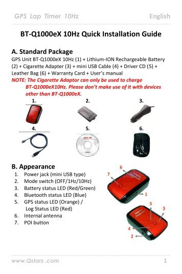 Qstarz BT-Q818 eXtreme USB Drivers for PC