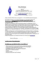 Aktuelles BB Amateurfunkmagazin als PDF und ... - www qslnet de