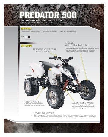 PREDATOR 500 - Quadcenter Oberwallis