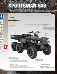 SPORTSMAN 6X6 - Quadcenter Oberwallis