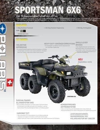 SPORTSMAN 6X6 - Quadcenter Oberwallis