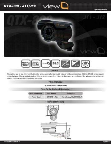 QTX-800 - J11/J12 - Quaddrix Technologies