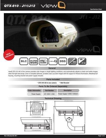Qtx-810 - j11/j12 - Quaddrix Technologies